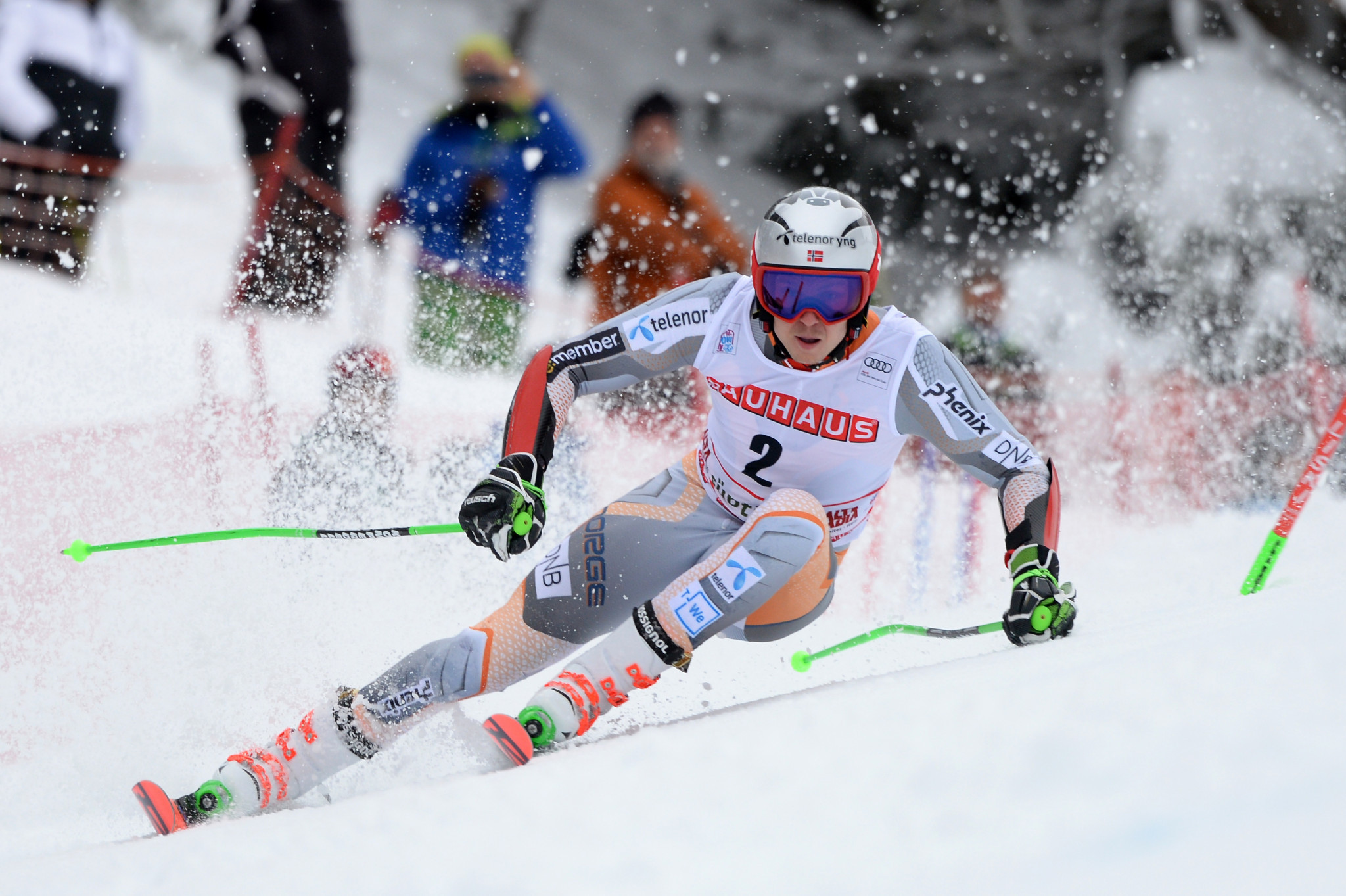 Henrik Kristoffersen of Norway leads the overall men's slalom standings ©Getty Images