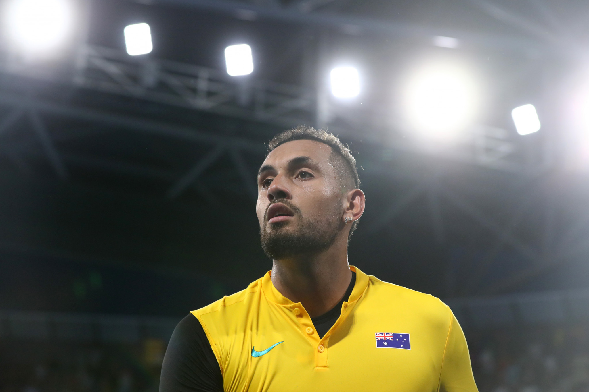Kyrgios emotional after raising money for bushfire crisis in Australia victory at ATP Cup