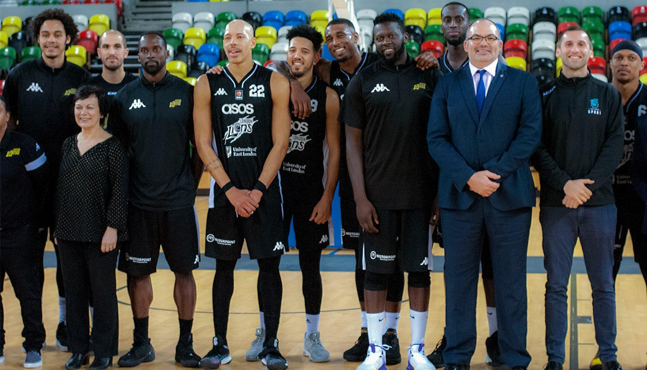 University of East London extend partnership with London Lions