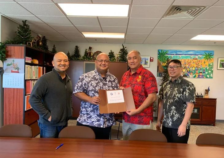 Guam's National Olympic Committee has signed a Memorandum of Understanding with the country's Department of Education ©GNOC