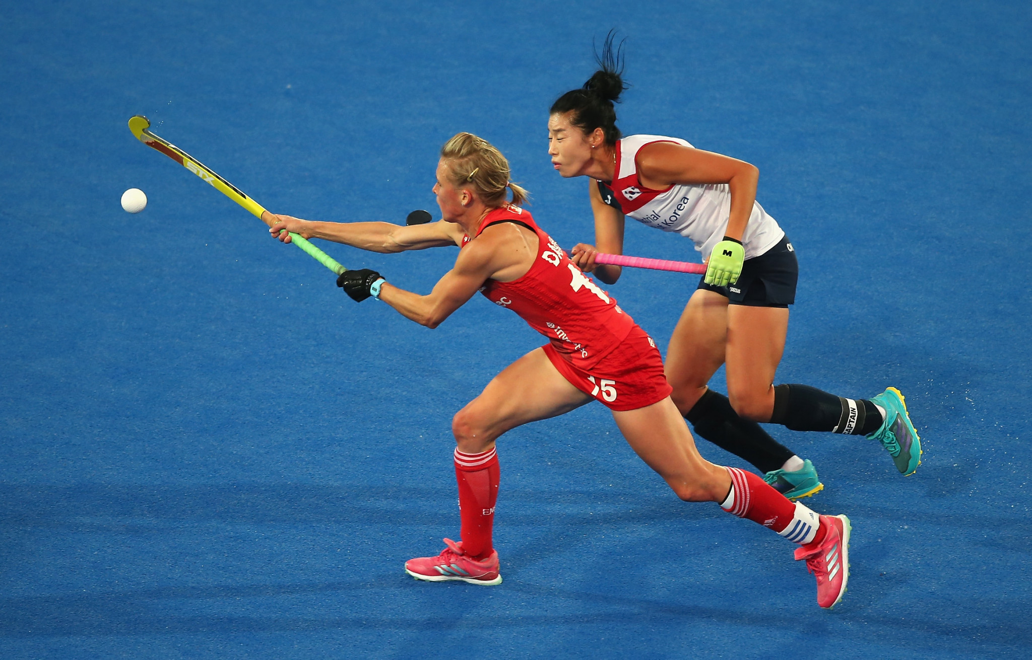 Alex Danson is targeting a place on the British hockey squad for Tokyo 2020 ©Getty Images