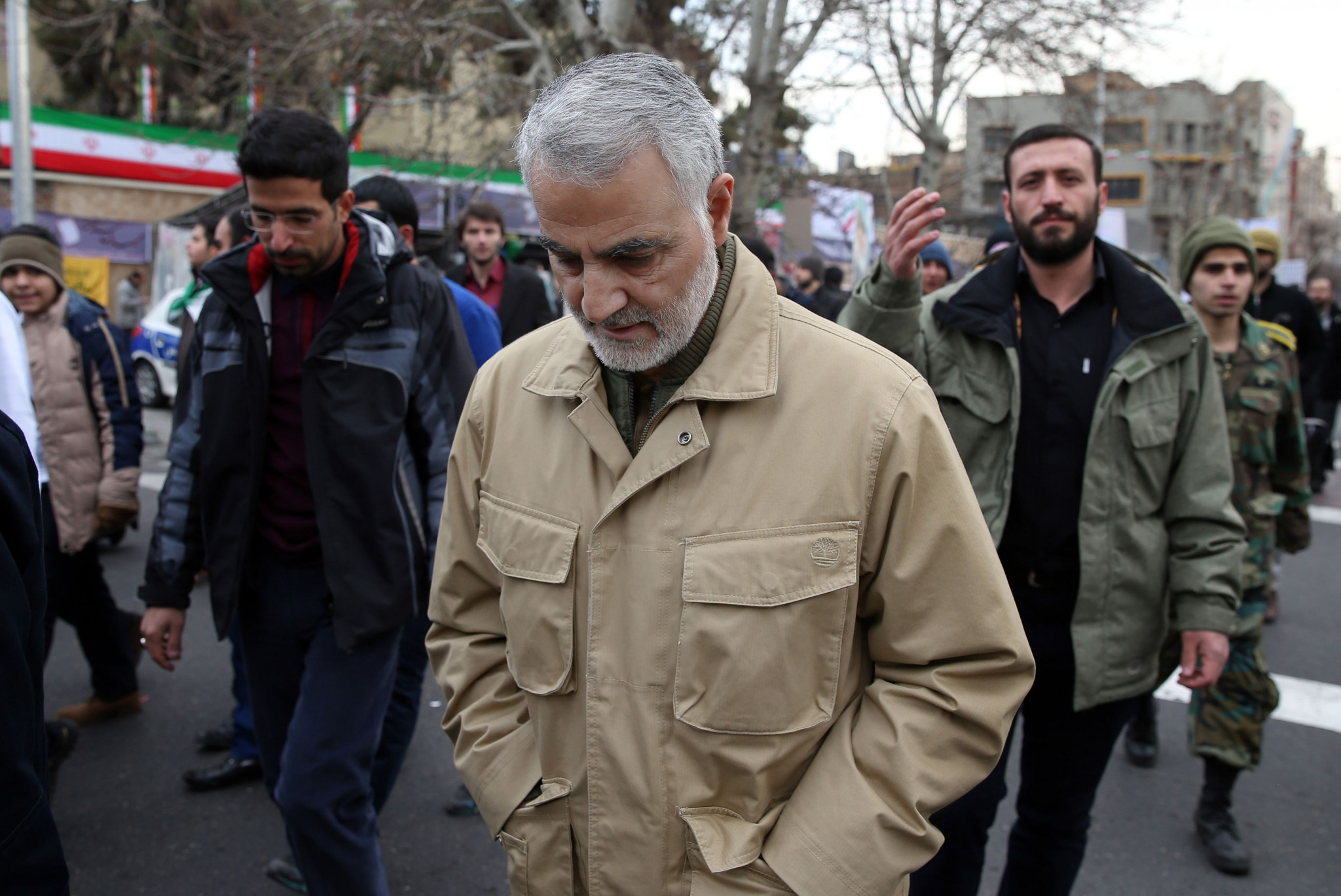 Qasem Soleimani was killed in an airstrike ordered by US President Donald Trump ©Getty Images