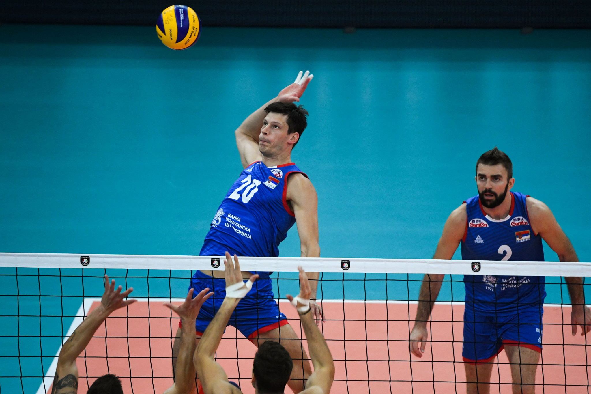 Serbia are among the eight teams competing in the European men's qualifier ©Getty Images