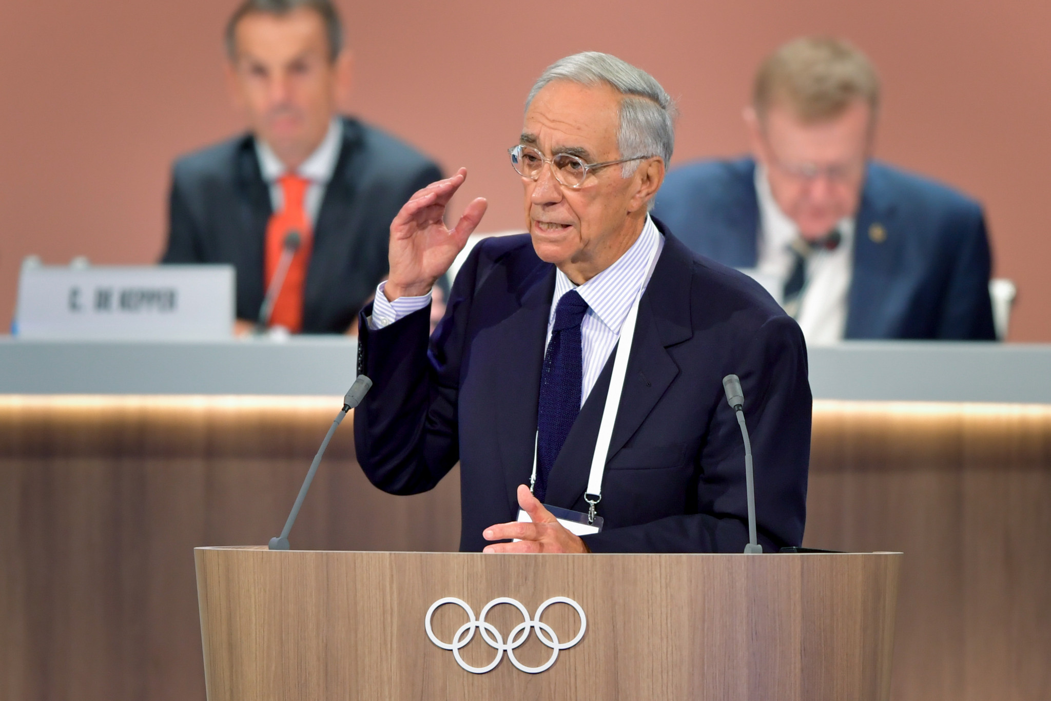 Franco Carraro is among the members to have left the IOC ©Getty Images