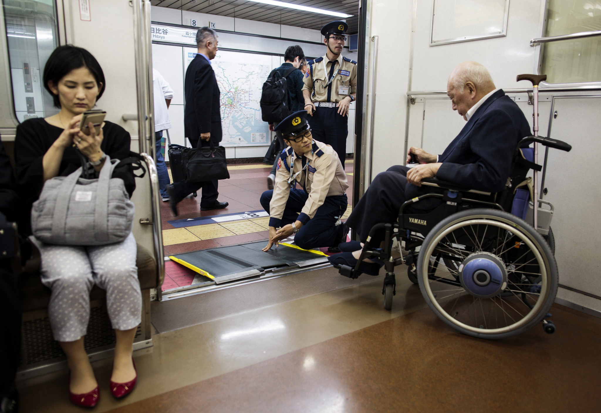 Tokyo continues accessibility work to prepare for Paralympics