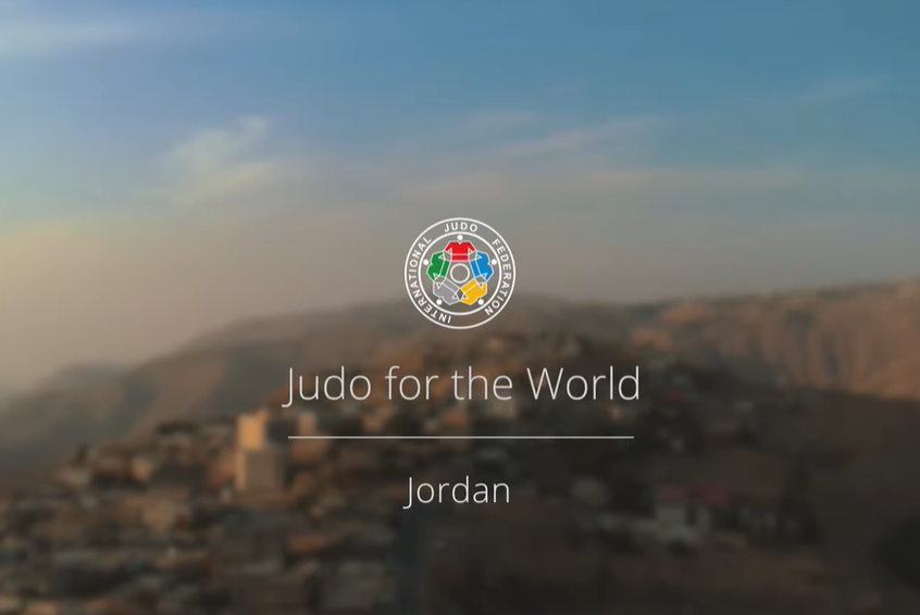 Jordan the subject of latest Judo for the World film