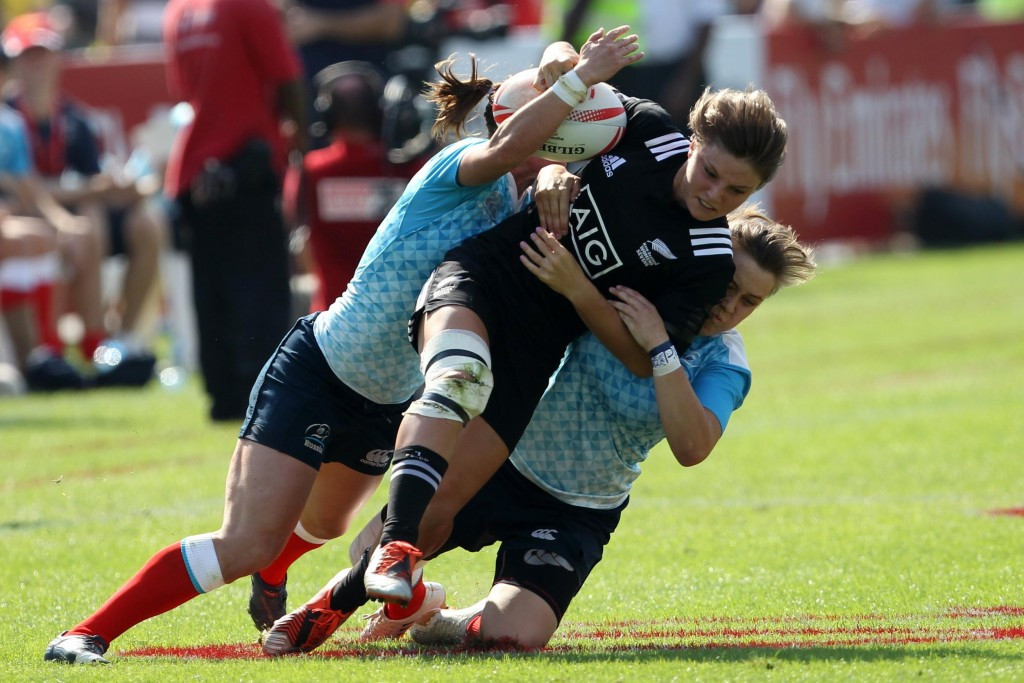 Russia shock defending champions New Zealand on day for underdog at World Rugby Women's Sevens Series
