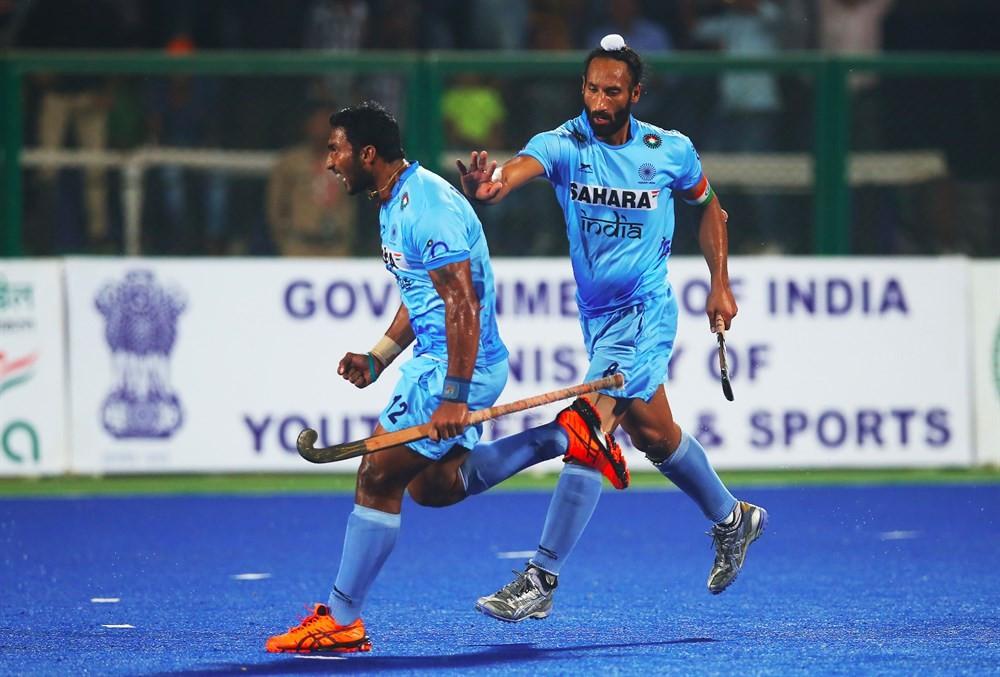 Hosts India book semi-final date after ending Britain's unbeaten run at Hockey World League Final