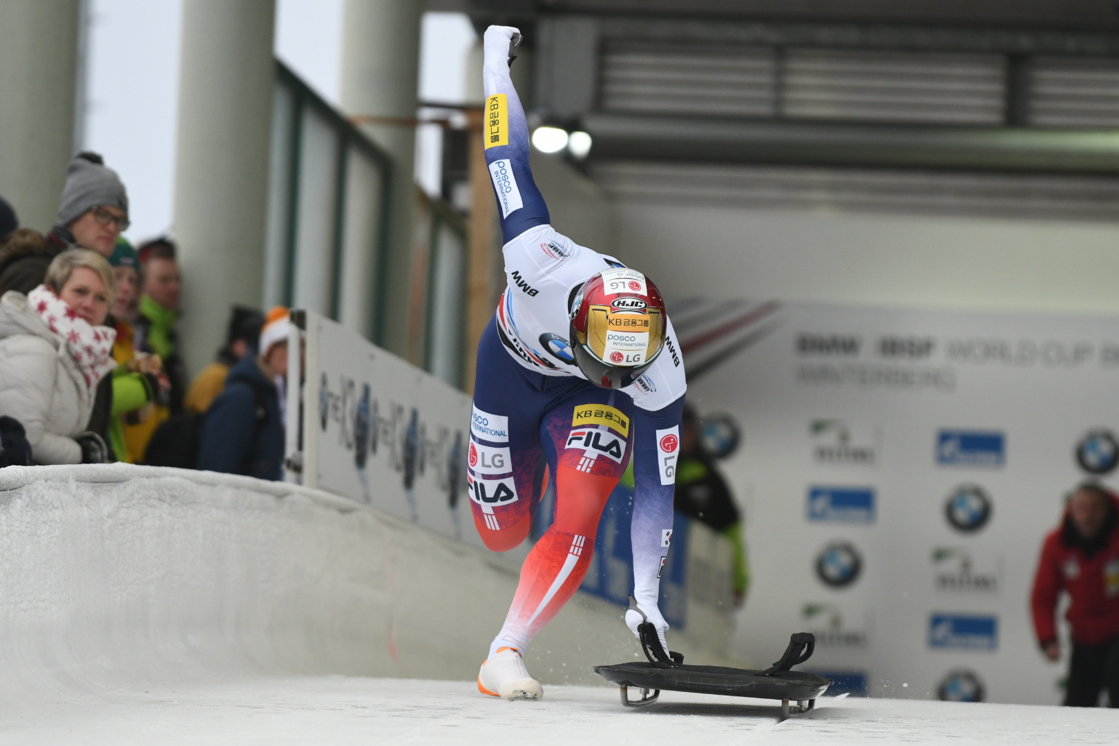 Yun and Hermann earn narrow skeleton wins at IBSF World Cup in Winterberg