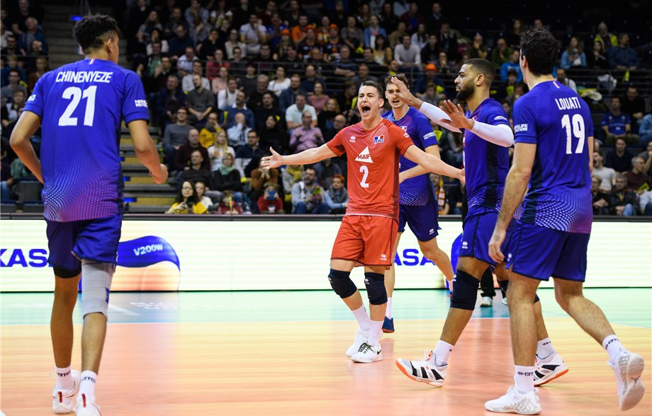 "France take step towards Tokyo 2020 with ""miracle"" win over European volleyball champions Serbia"