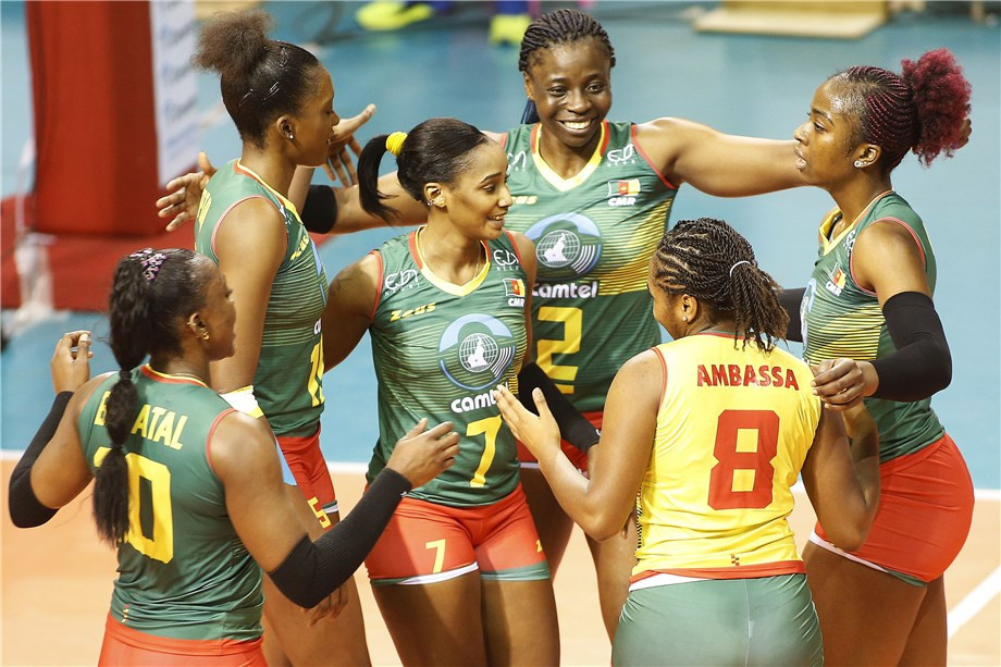 Hosts Cameroon got off to a winning start today in the African women's qualifier tournament for the Tokyo 2020 ©FIVB