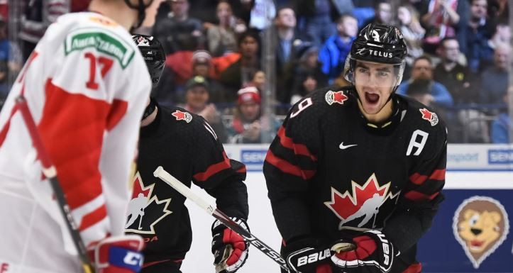 Canada come from behind to earn 18th world junior men's ice hockey title in Czech Republic