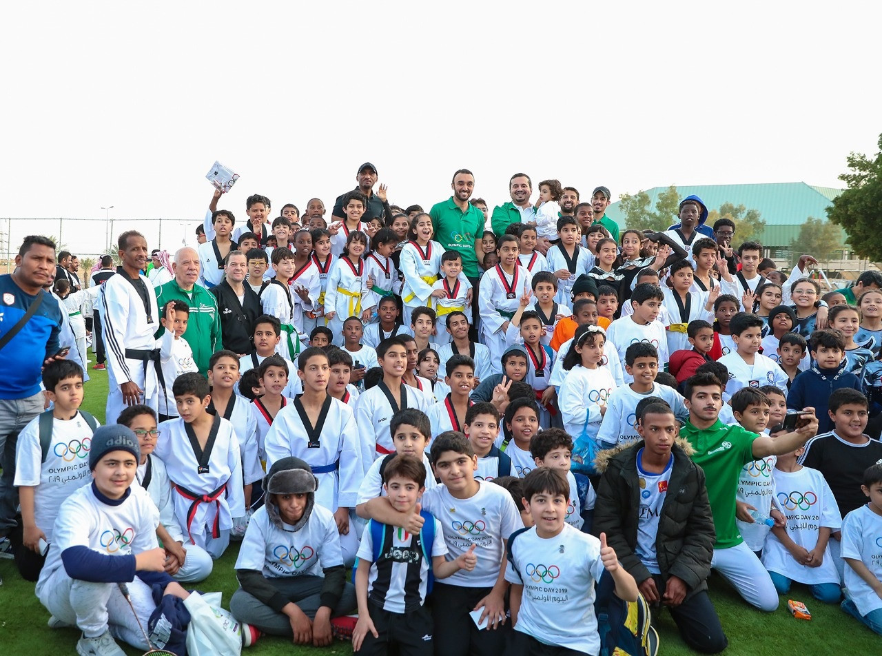Saudi Arabian Olympic Committee celebrates Olympic Day