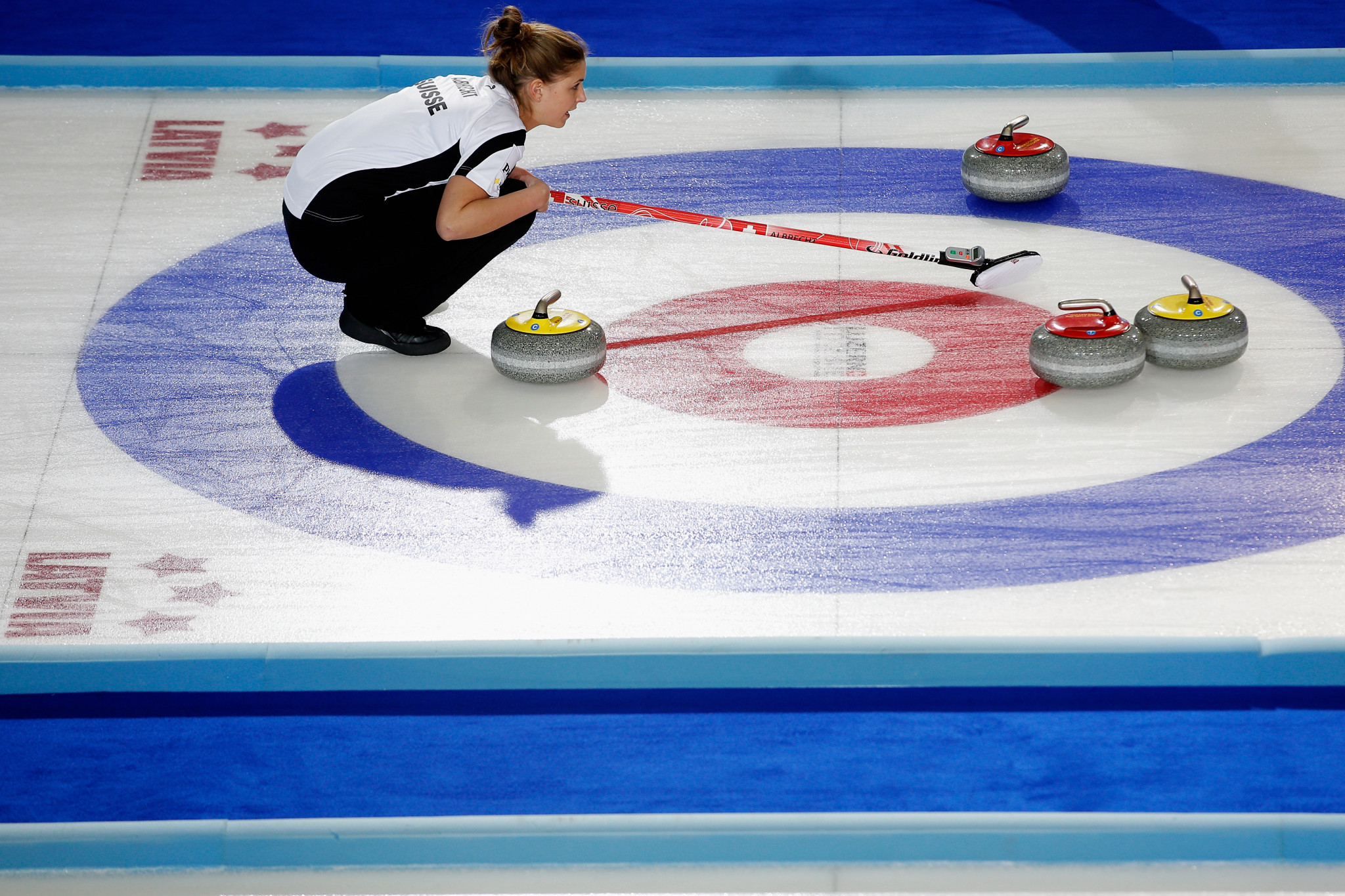 Swiss curler Albrecht named as athlete role model for Lausanne 2020