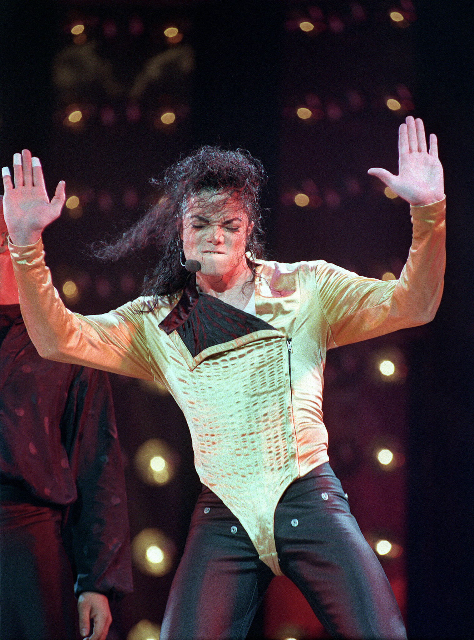 Michael Jackson, pictured during his 2012-13