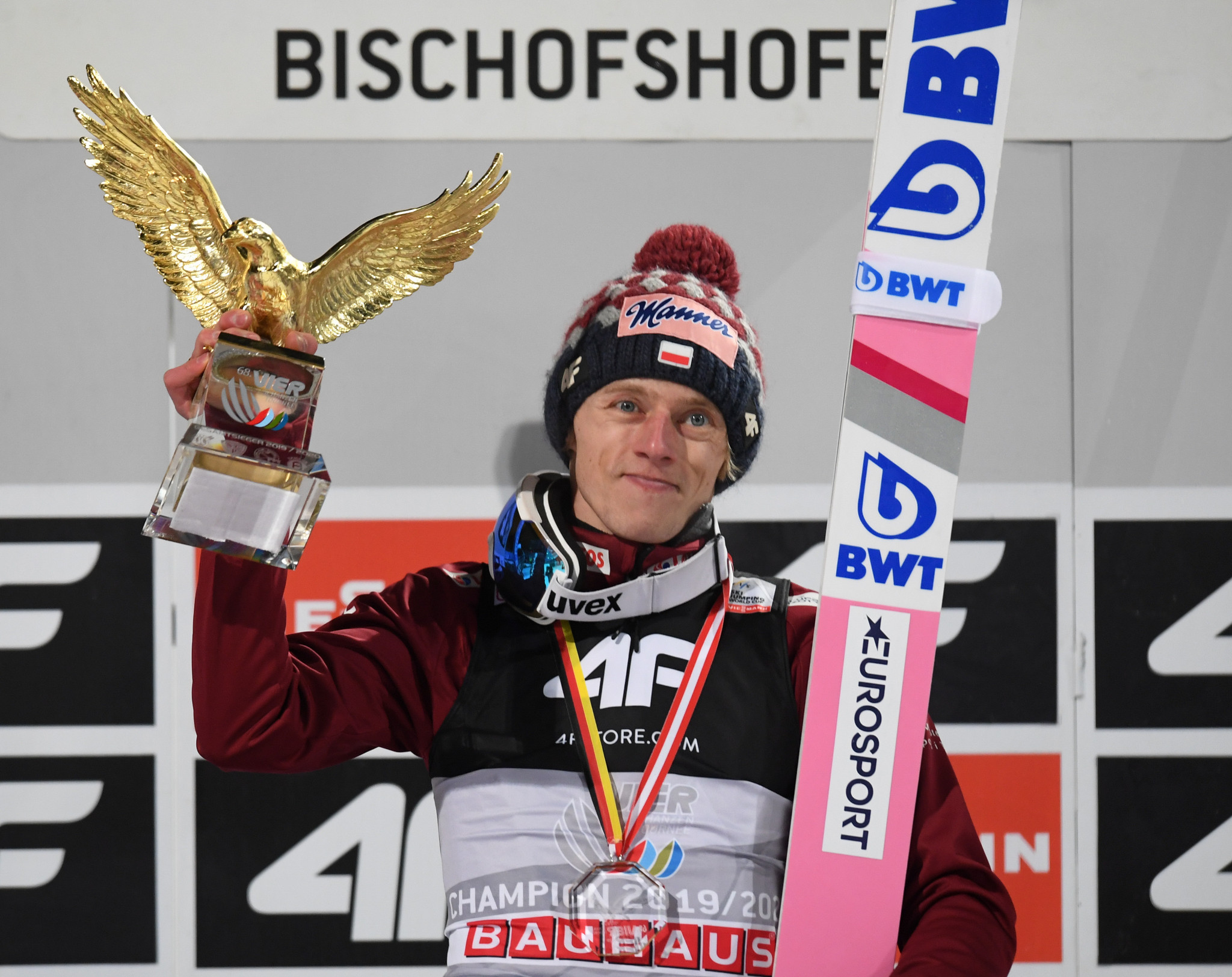 Kubacki claims maiden Four Hills Tournament crown after win in Bischofshofen