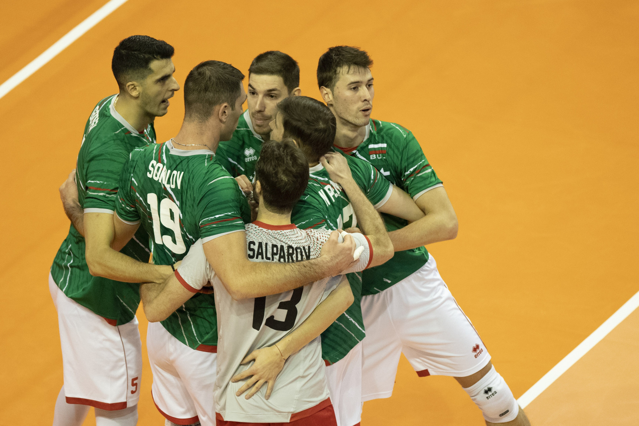 Bulgaria beat France at Men's European Volleyball Olympic Qualification Tournament
