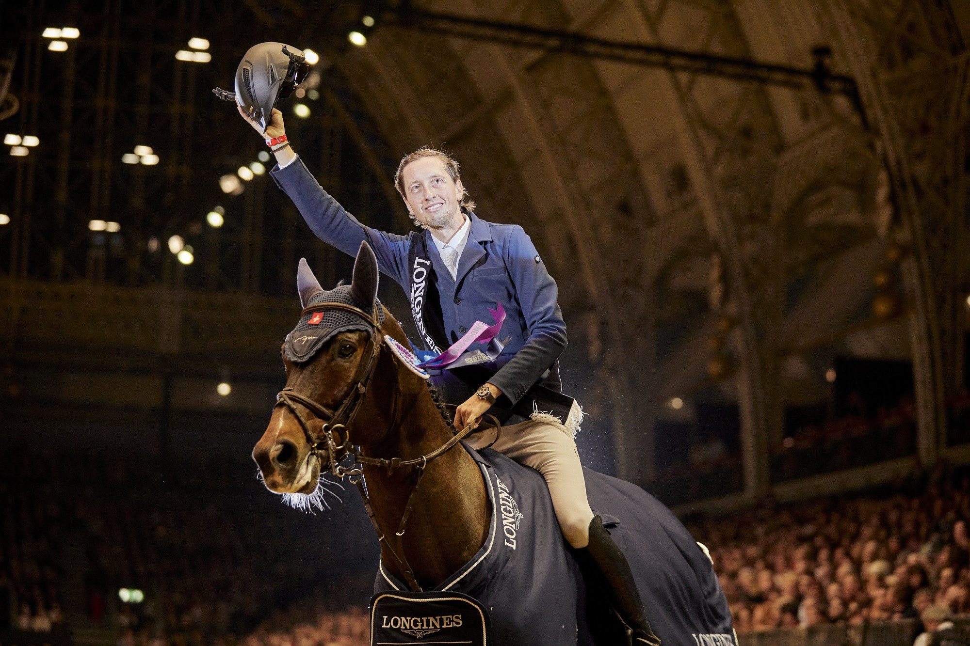 Fuchs takes over from fellow Swiss Guerdat as world number one show jumper