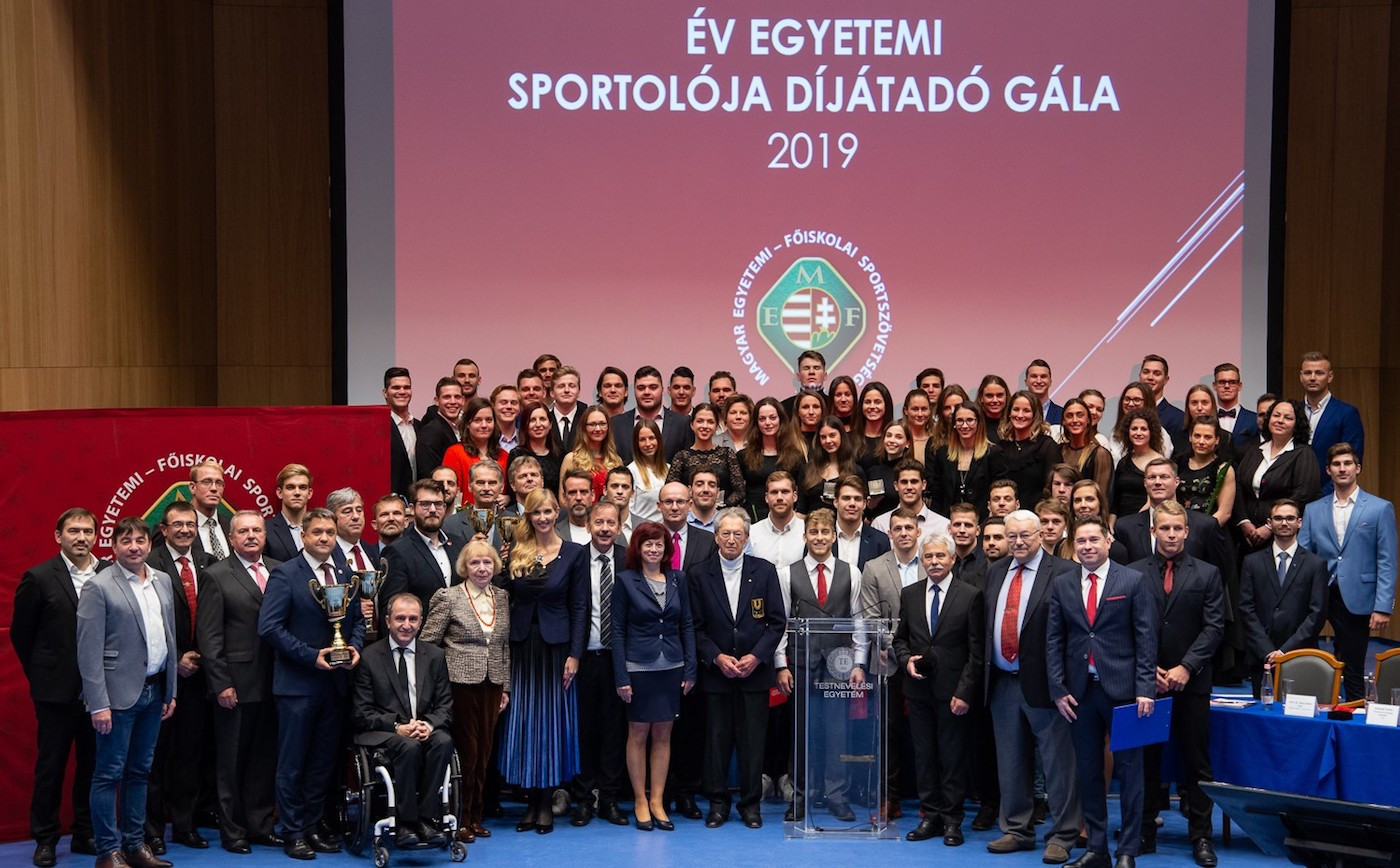 Hungarian University Sports Federation holds annual awards ceremony