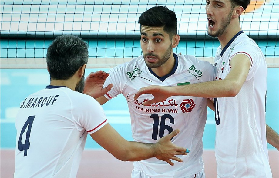 Favourites Iran begin strongly at Men's Volleyball Asian Olympic Qualification Tournament