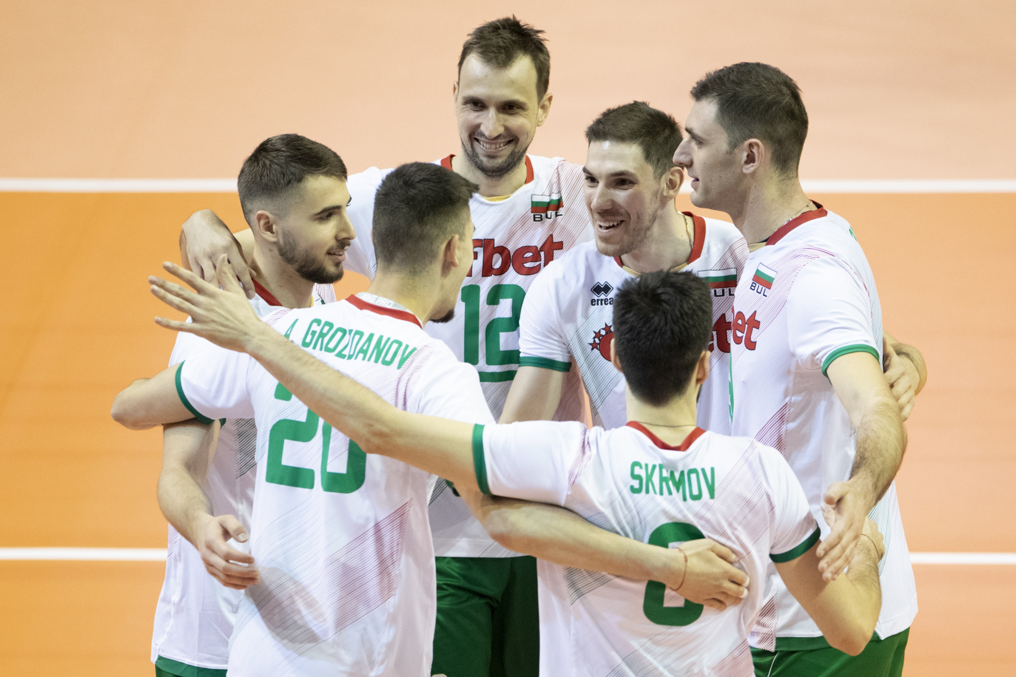Bulgaria cruise past Netherlands to top Pool B at Men's European Volleyball Olympic Qualification Tournament