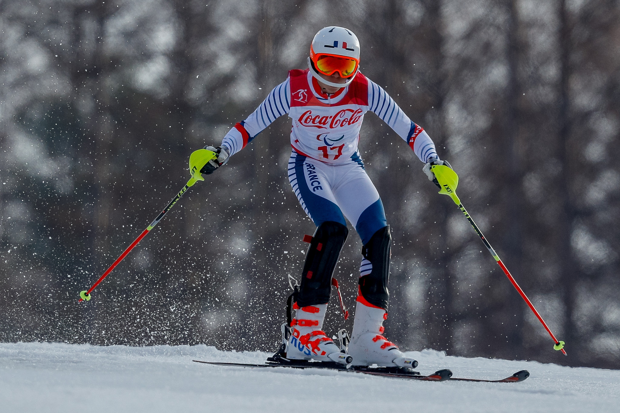 France's Arthur Bauchet is among the leading names in the field for the World Para Alpine Skiing World Cup in Veysonnaz ©Getty Images