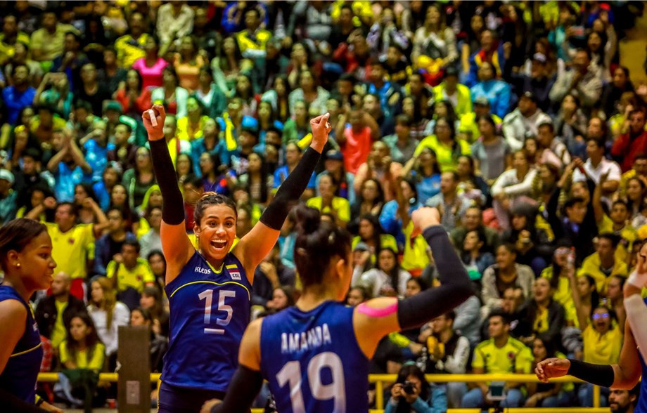 Hosts Colombia open with victory at Women's Volleyball South American Olympic Qualification Tournament
