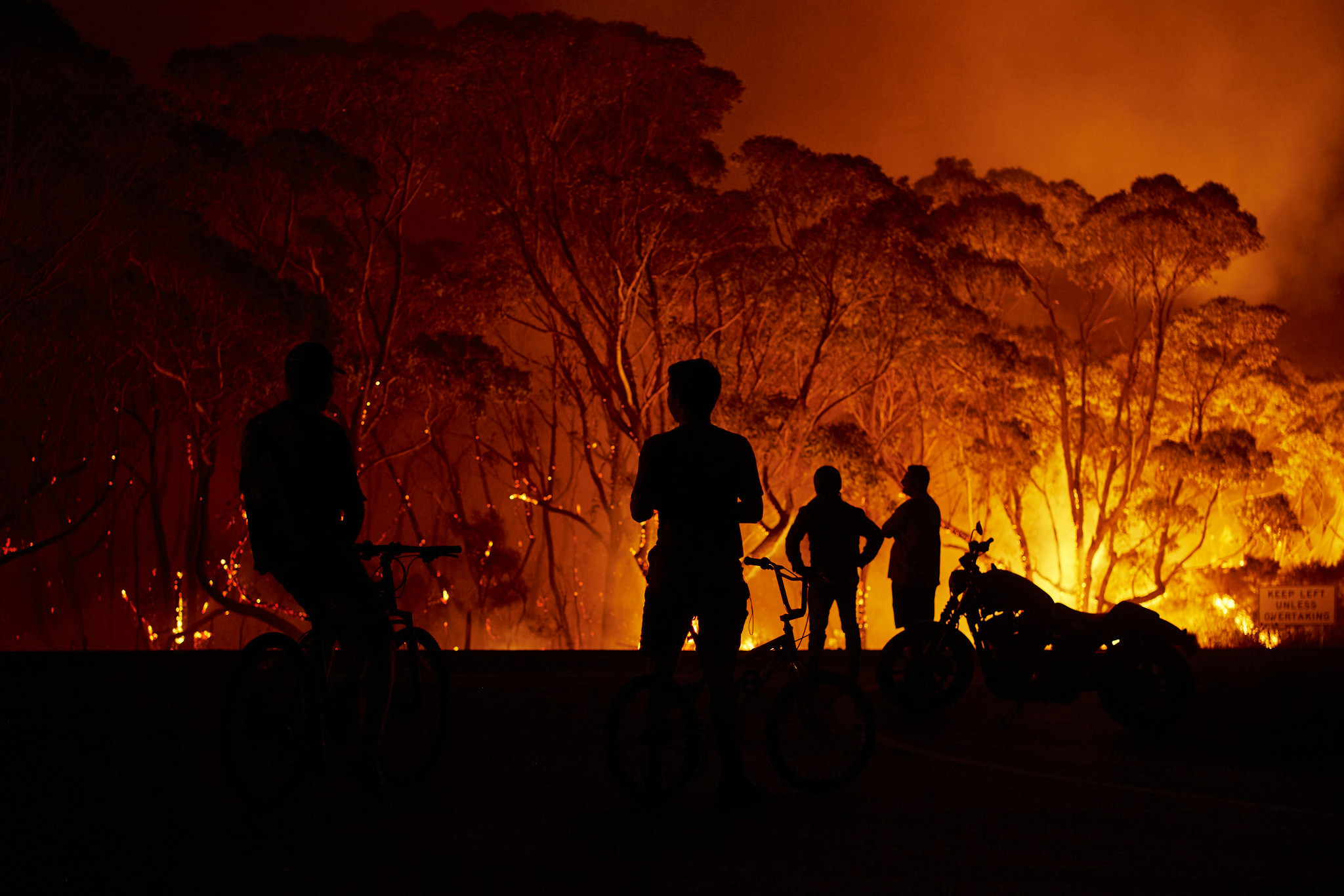 Bushfires have been particularly severe in Sydney's state of New South Wales ©Getty Images