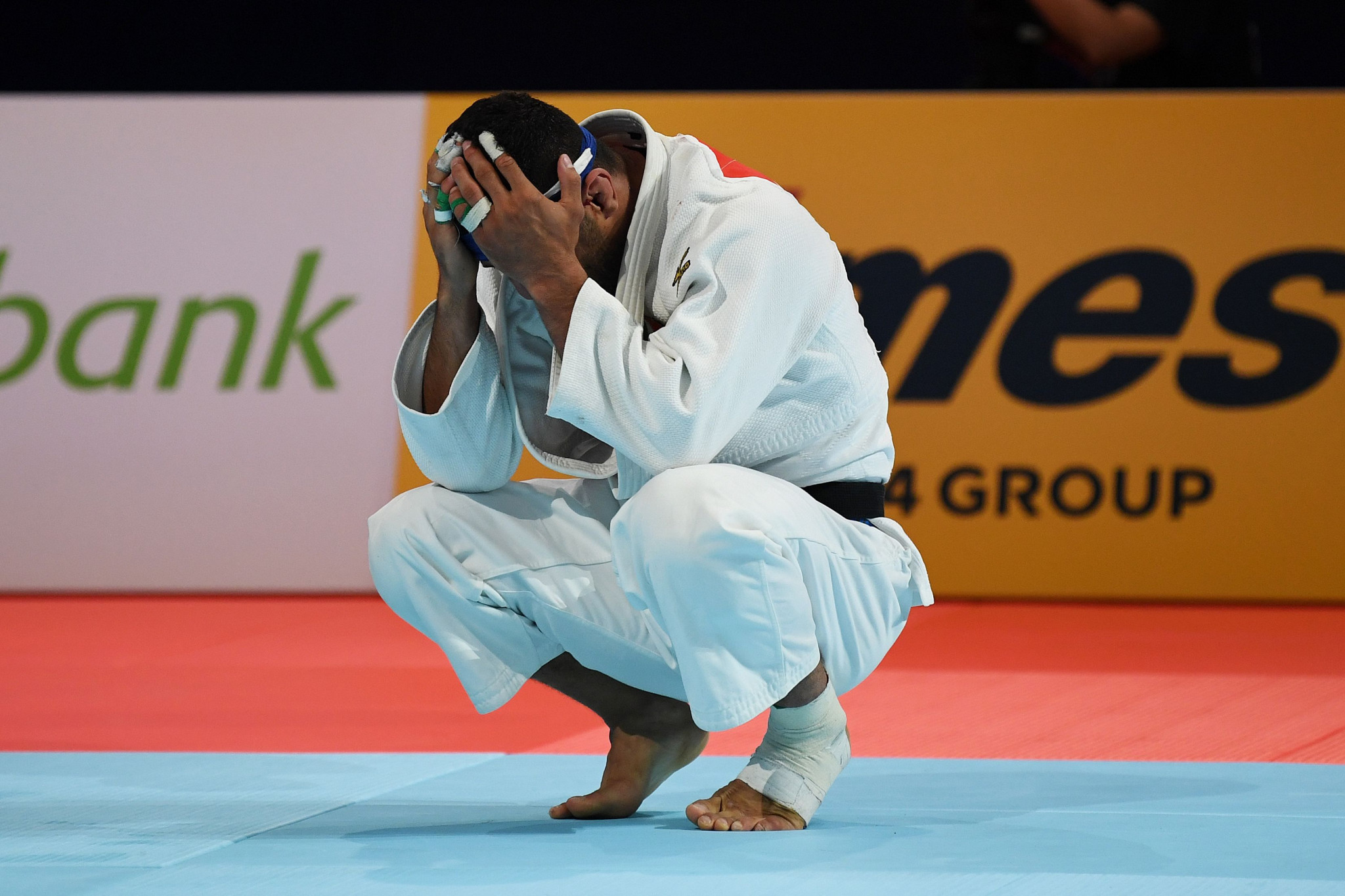 Iran has been suspended by the International Judo Federation after Saeid Mollaei was allegedly ordered to lose to avoid facing an Israeli at the World Championships in Tokyo last year ©Getty Images