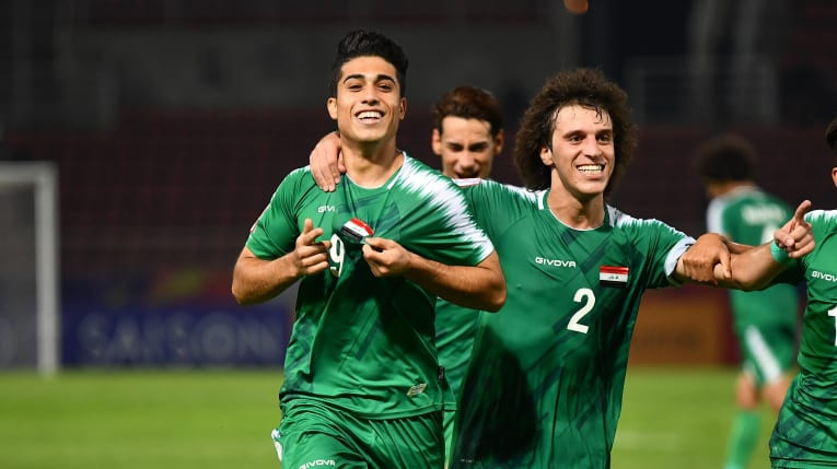Iraq hit back to earn a draw with Australia  ©AFC