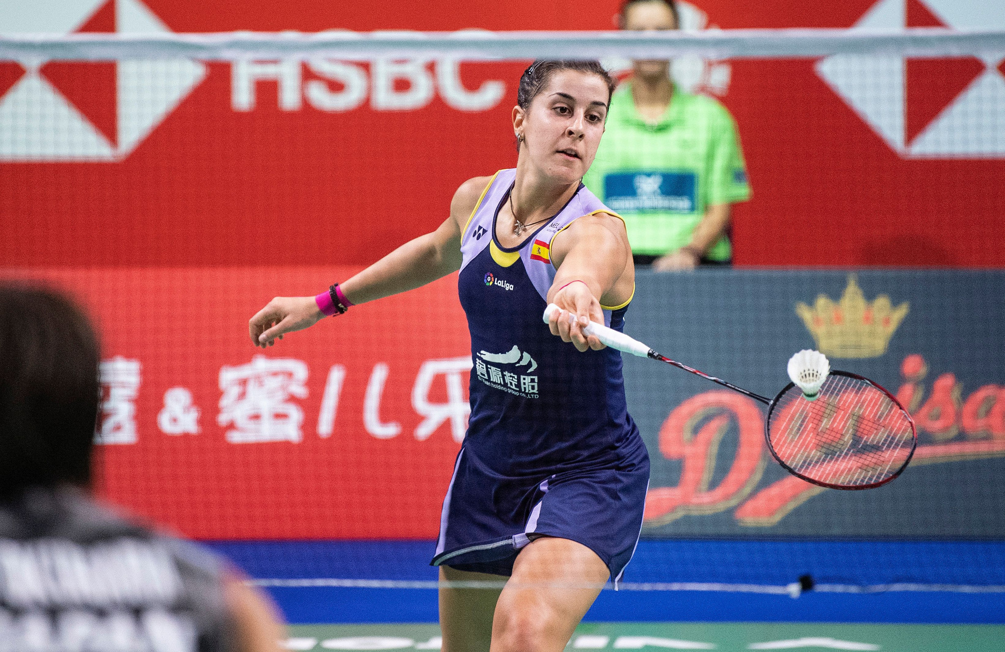 Spain's Olympic champion Carolina Marin knocked out Japanese fourth seed Akane Yamaguchi ©Getty Images