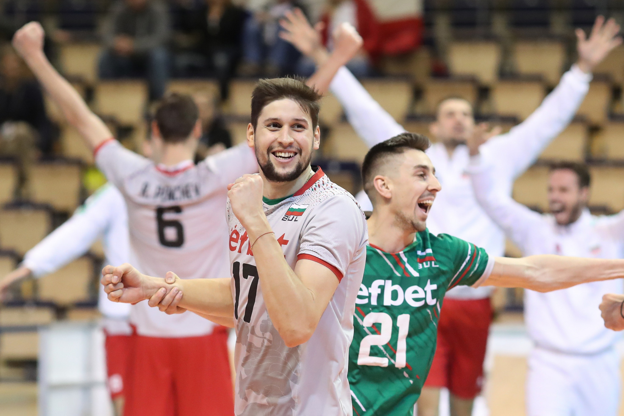 Bulgaria and France complete semi-final line-up at Men's European Volleyball Olympic Qualification Tournament