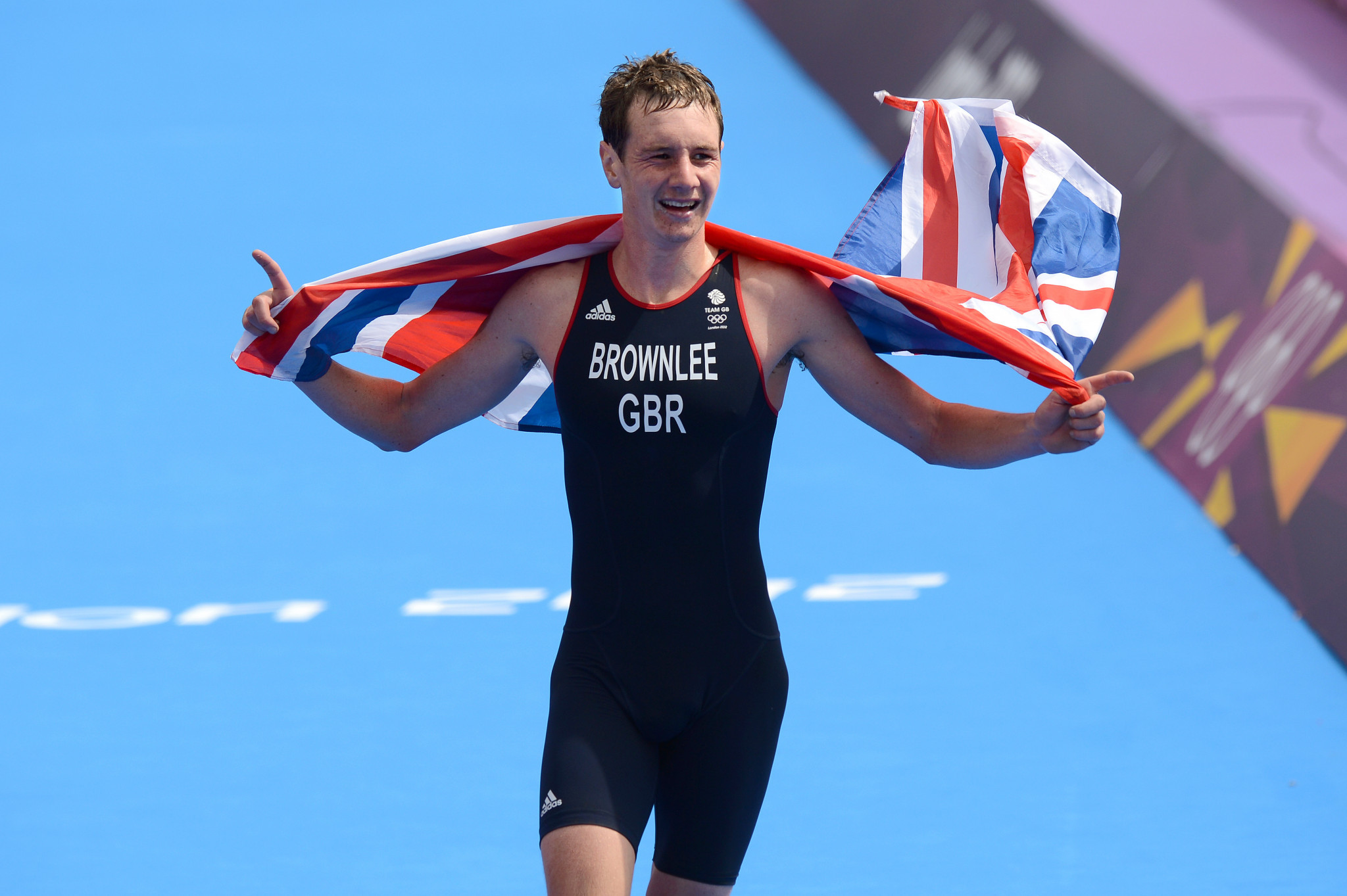 Alistair Brownlee won his first Olympic gold at a home Games, London 2012 ©Getty Images