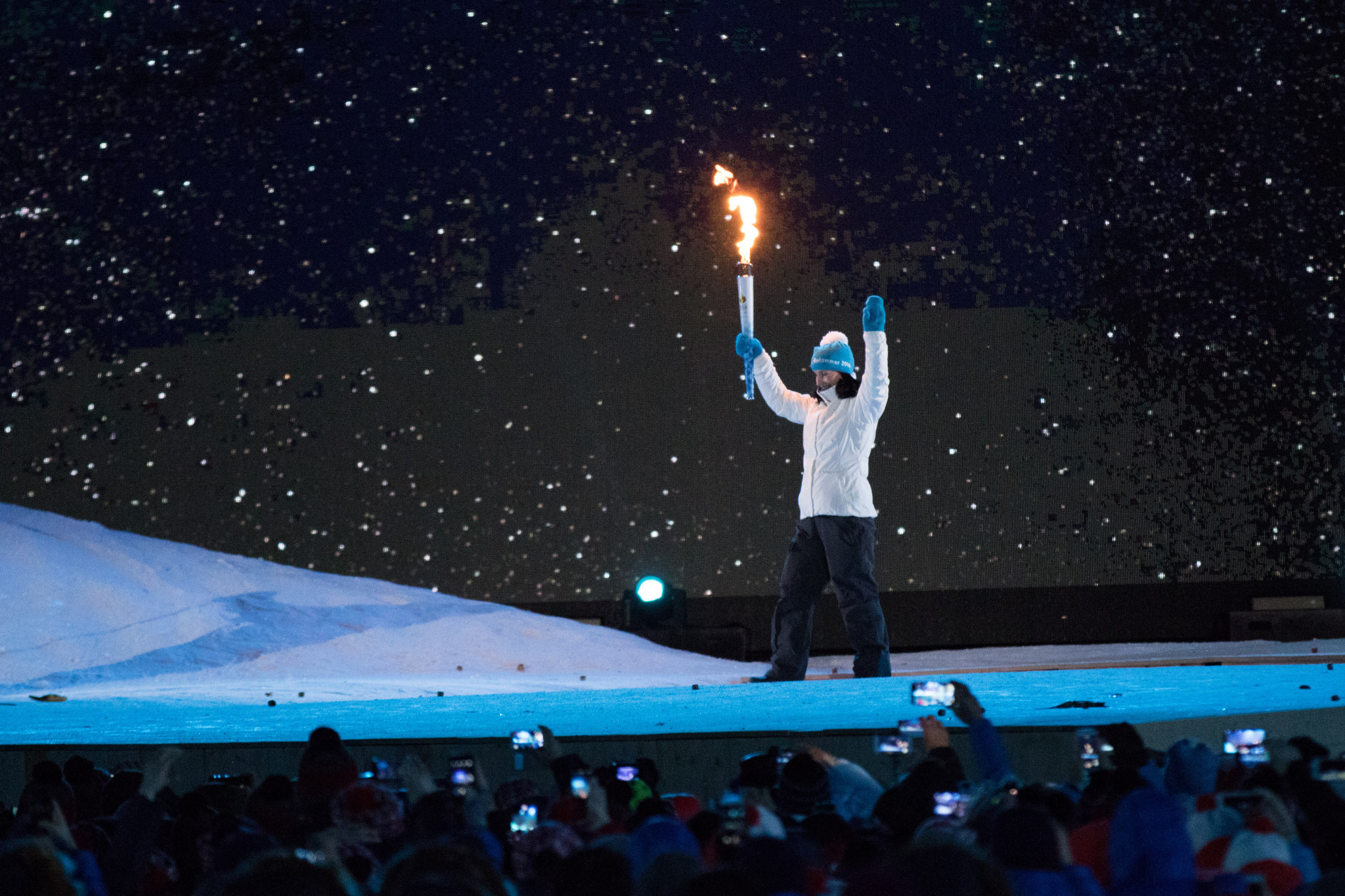 Lillehammer 2016 saw a mixture of hope and wonder at its Opening Ceremony ©Getty Images