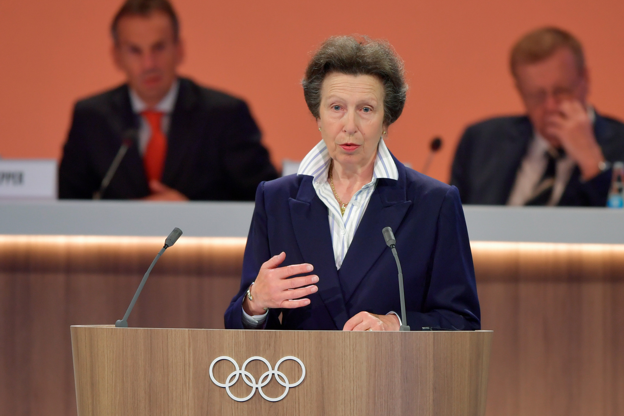 If elected, Alistair Brownlee would join British IOC members such as the Princess Royal ©Getty Images