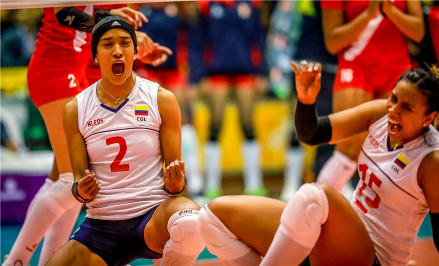 Colombia and Argentina book straight shoot-out for Tokyo 2020 women's volleyball place