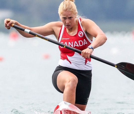 Canada's Laurence Vincent-Lapointe has earned 11 world titles during her career ©ICF
