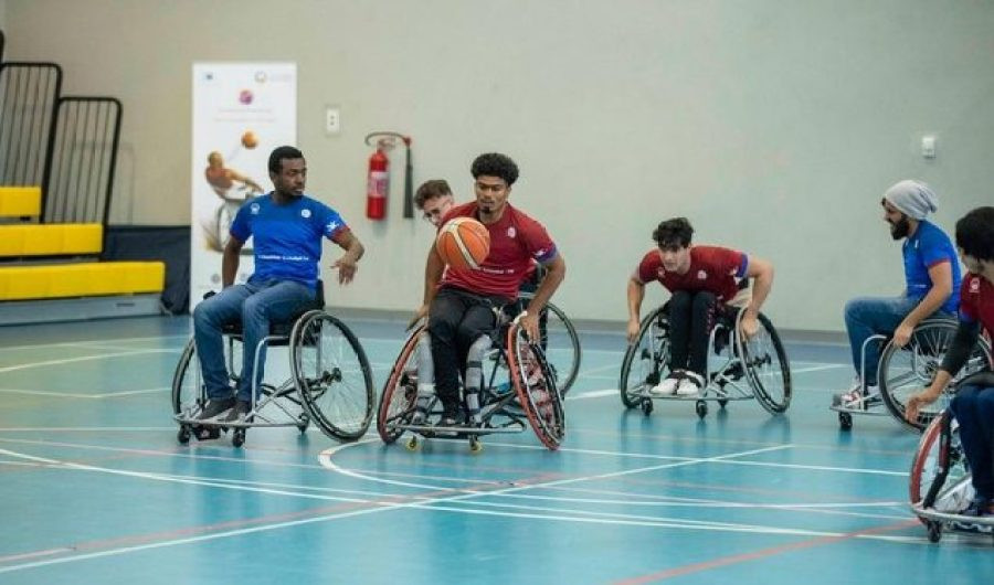 Ajman University launches wheelchair basketball project