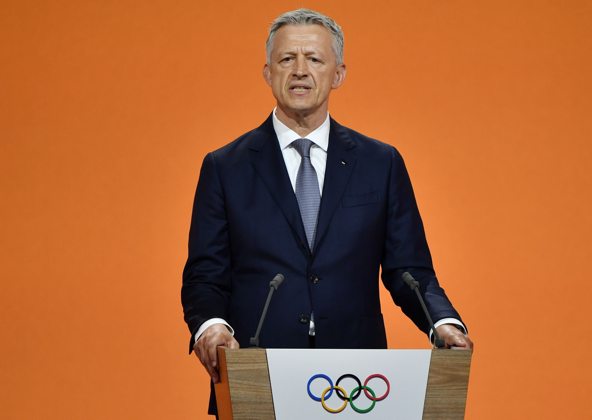Octavian Morariu is chair of the Future Winter Host Commission ©Getty Images