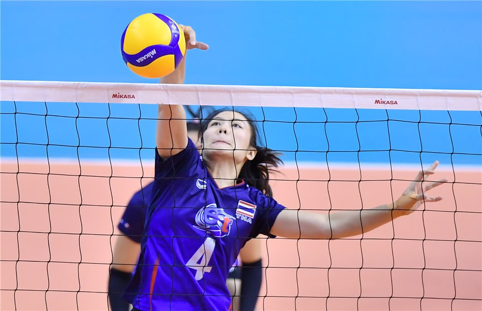 Thailand's women are yet to drop a set on home soil ©FIVB