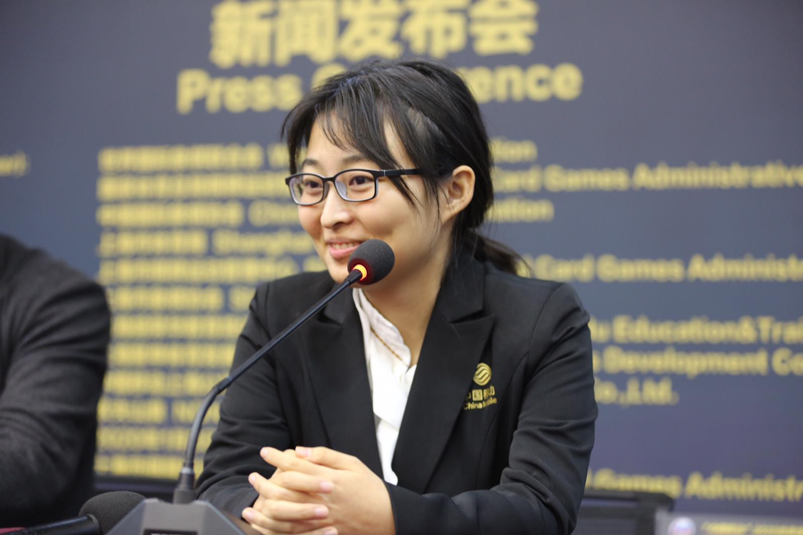 Ju Wenjun claimed the first victory of this year's Women's World Chess Championship ©FIDE