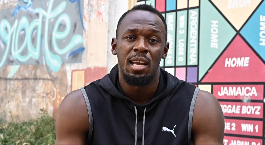 Bolt sends video message to encourage Lausanne 2020 participants
