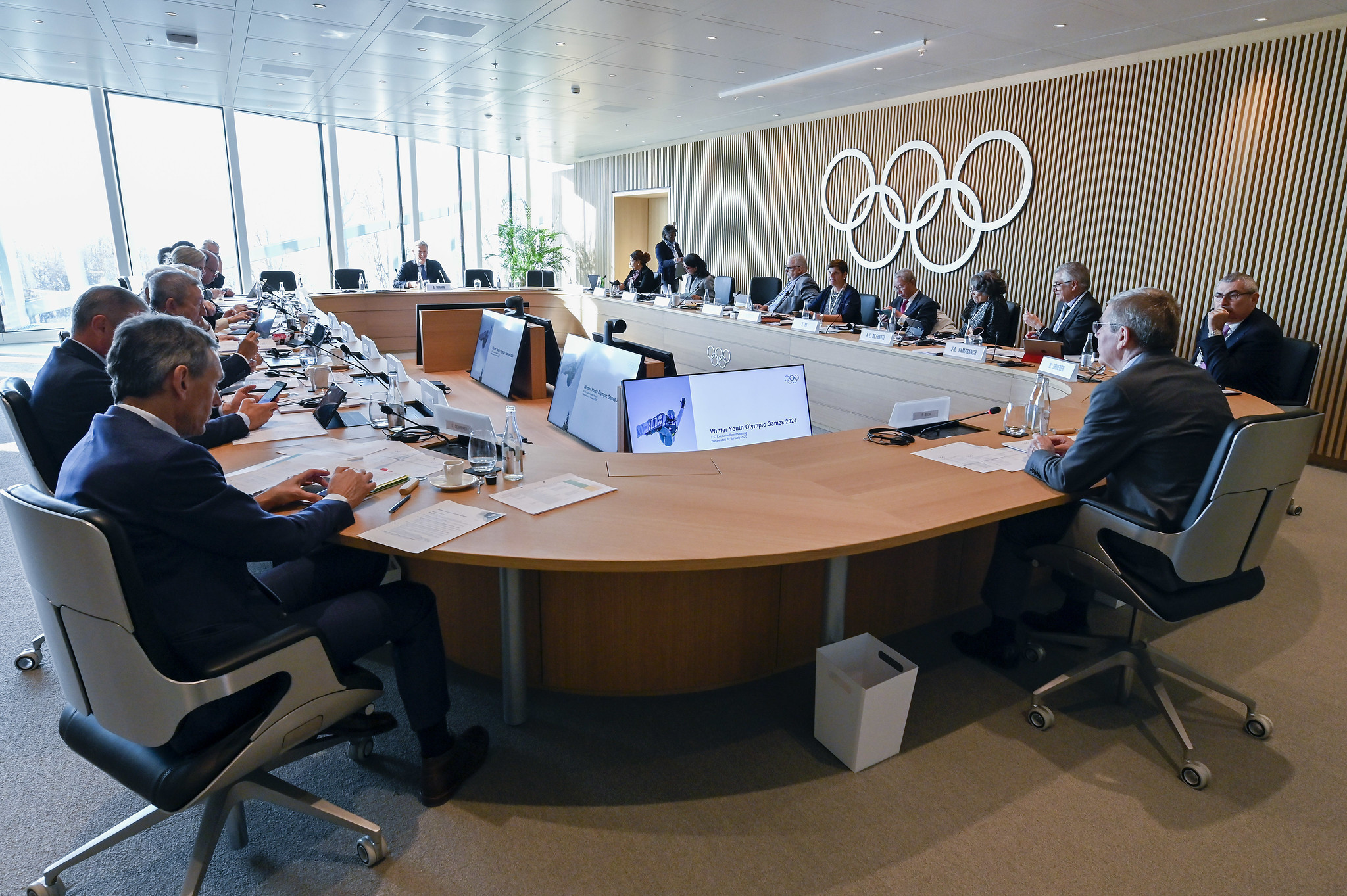 The Future Host Commission recommended Gangwon Province as the host of the 2024 Winter Youth Olympics to the Executive Board ©IOC