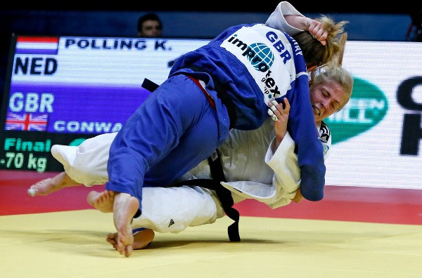 Briton Conway shocks returning world number one by taking gold at IJF Baku Grand Slam