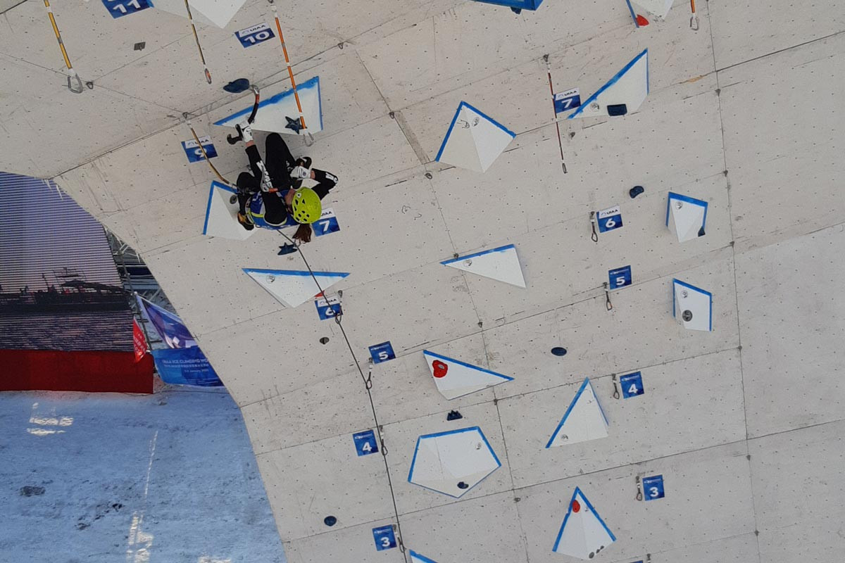 UIAA Ice Climbing World Cup season set to continue in Cheongsong