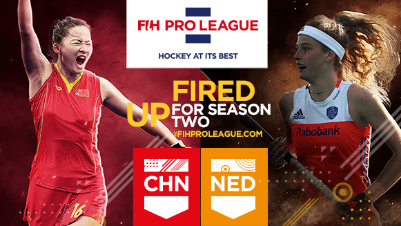 China and The Netherlands to raise curtain on 2020 FIH Pro League