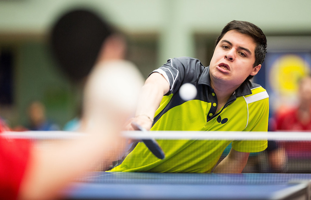 Mexican table tennis player Victor Eduardo Reyes Turcio is another nominee for the APC Athlete of the Month award ©APC