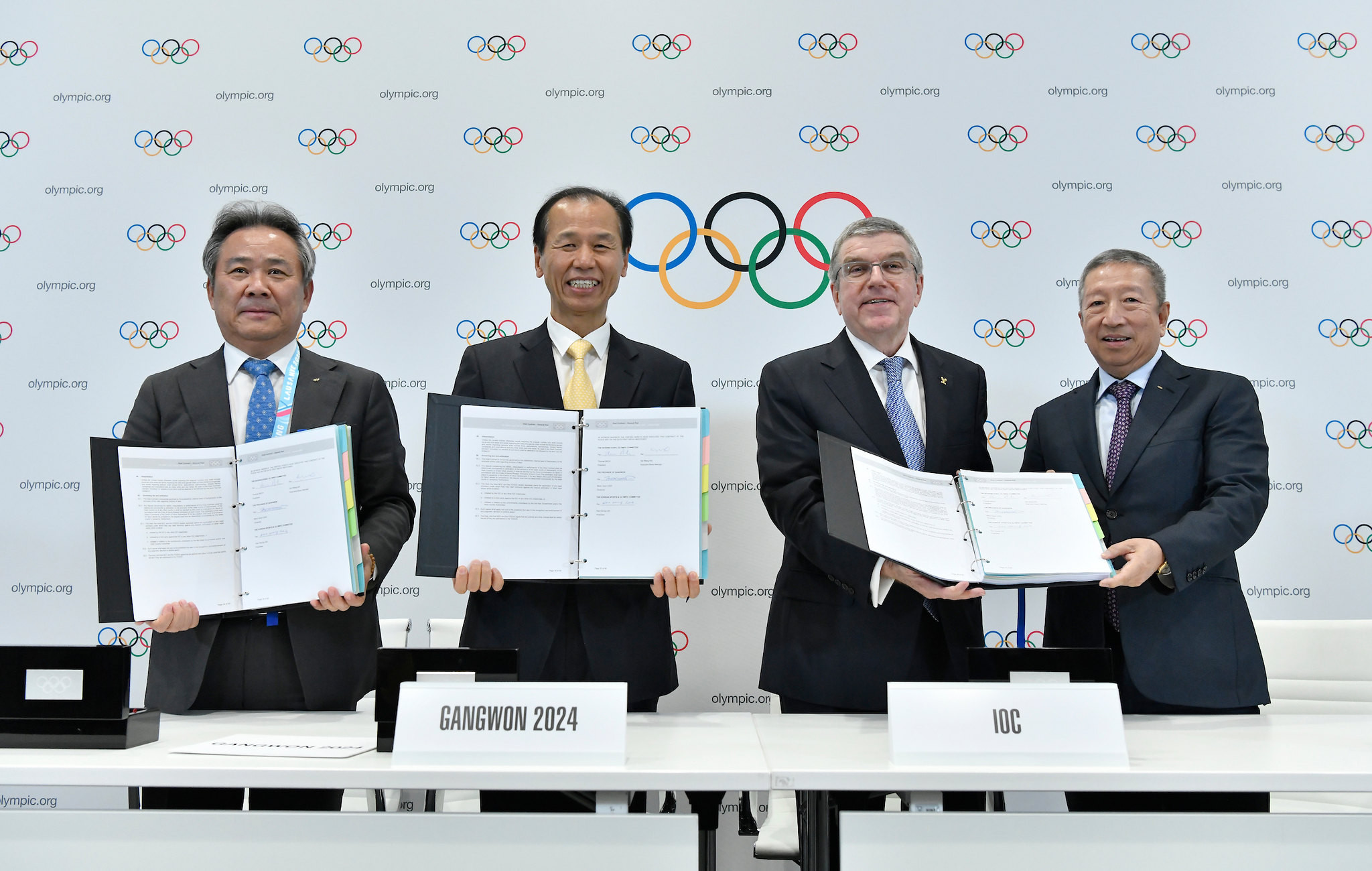 135th IOC Session and opening day of Lausanne 2020