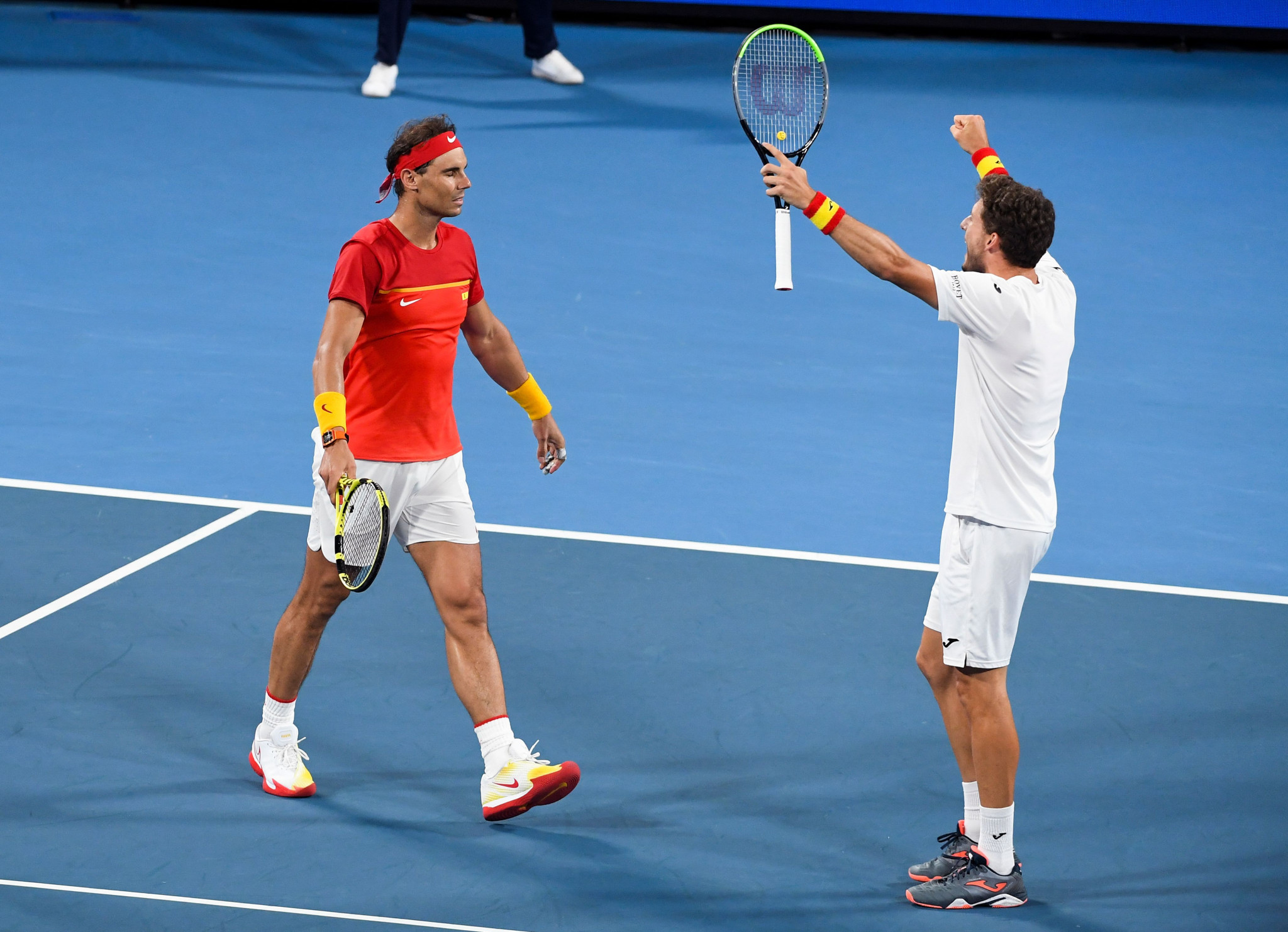 Nadal is loser then winner as Spain triumph in epic ATP Cup match against Belgium