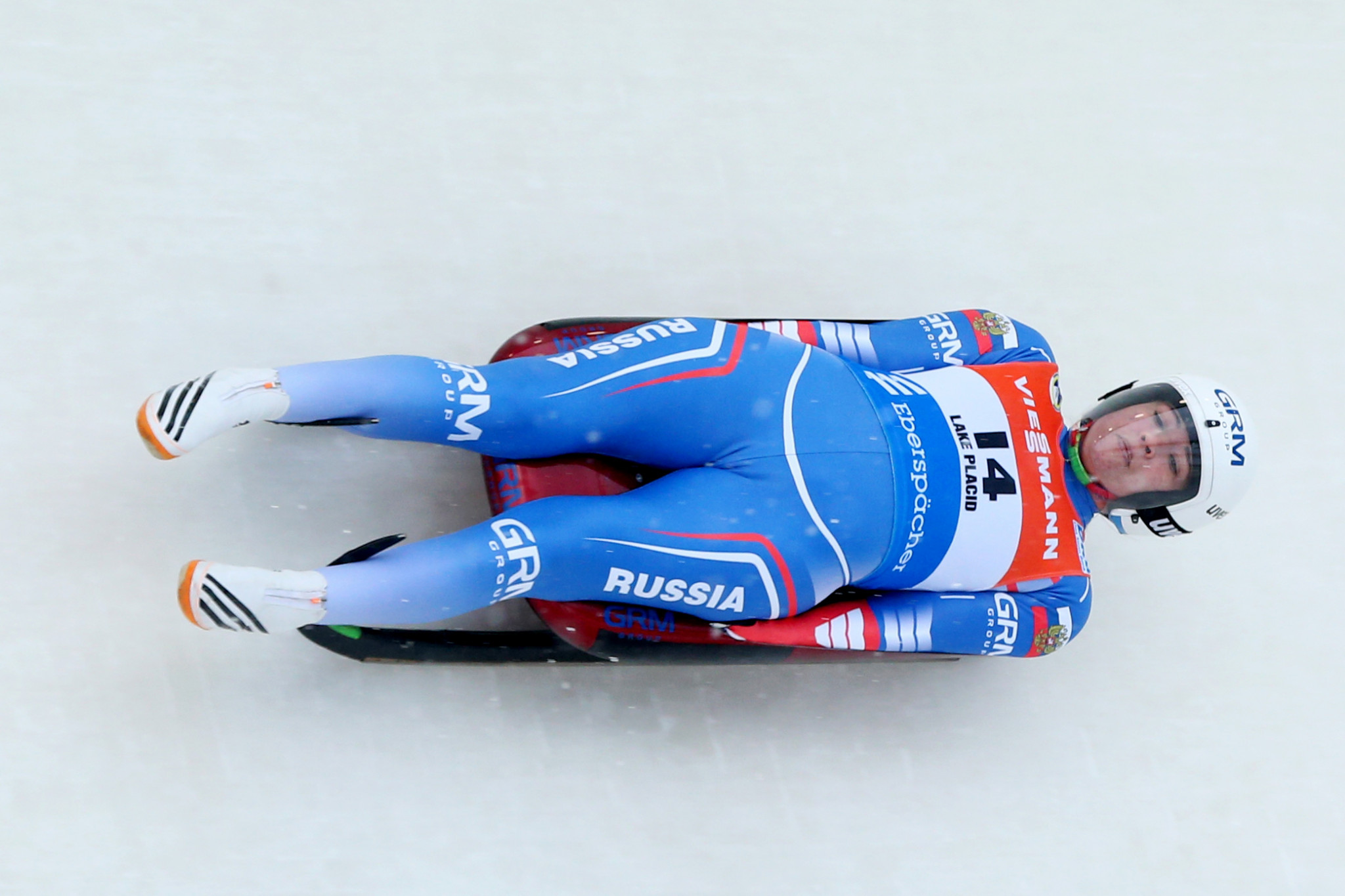 Tatyana Ivanova of Russia i seeking to maintain her overall Luge World Cup lead ©Getty Images